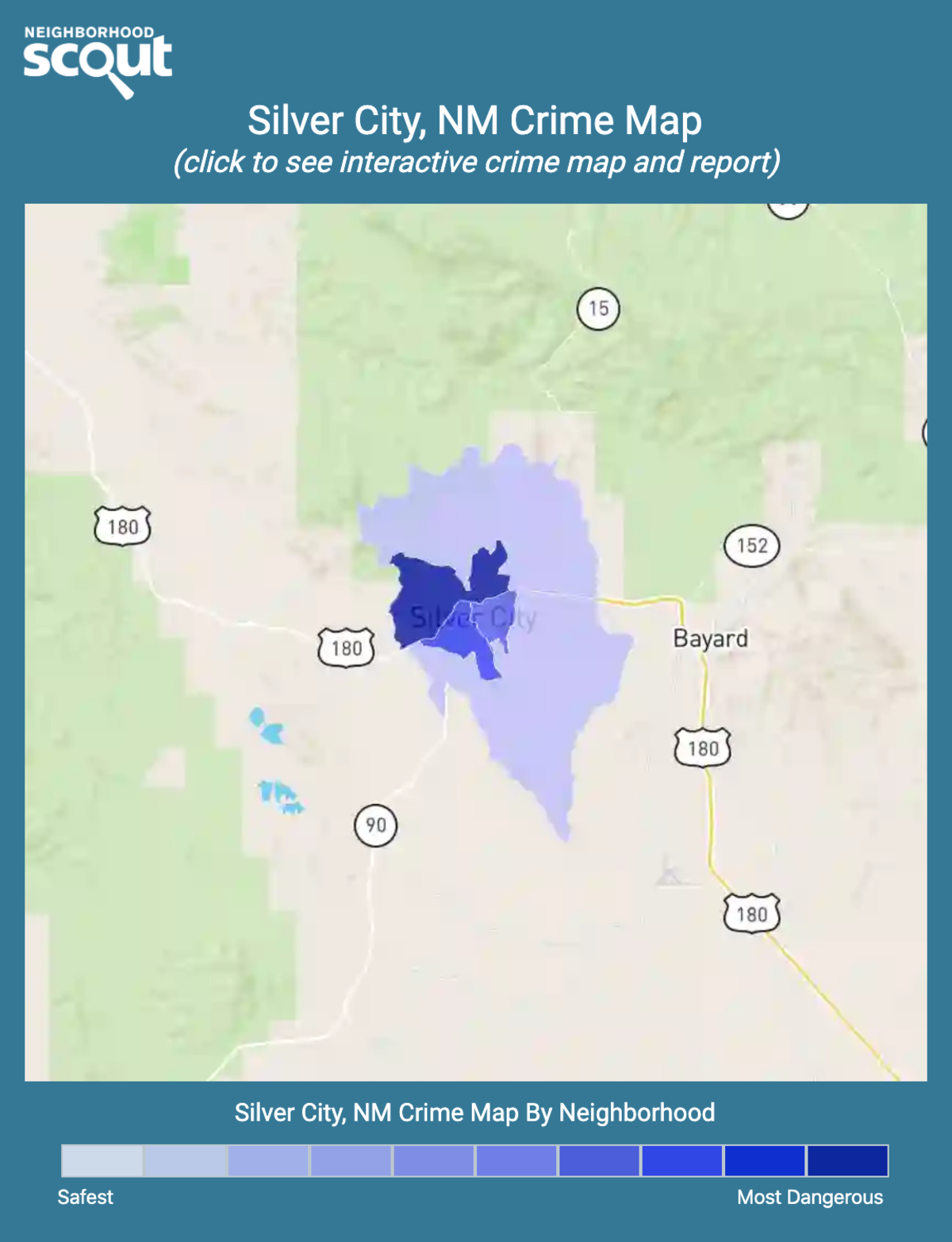 Silver City, New Mexico crime map