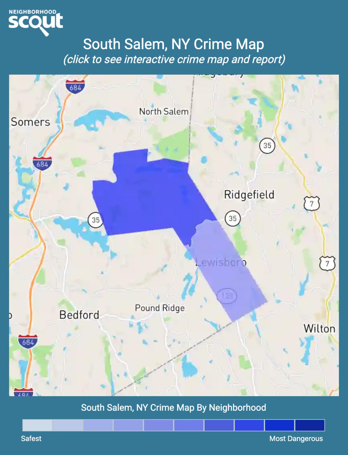 South Salem, New York crime map