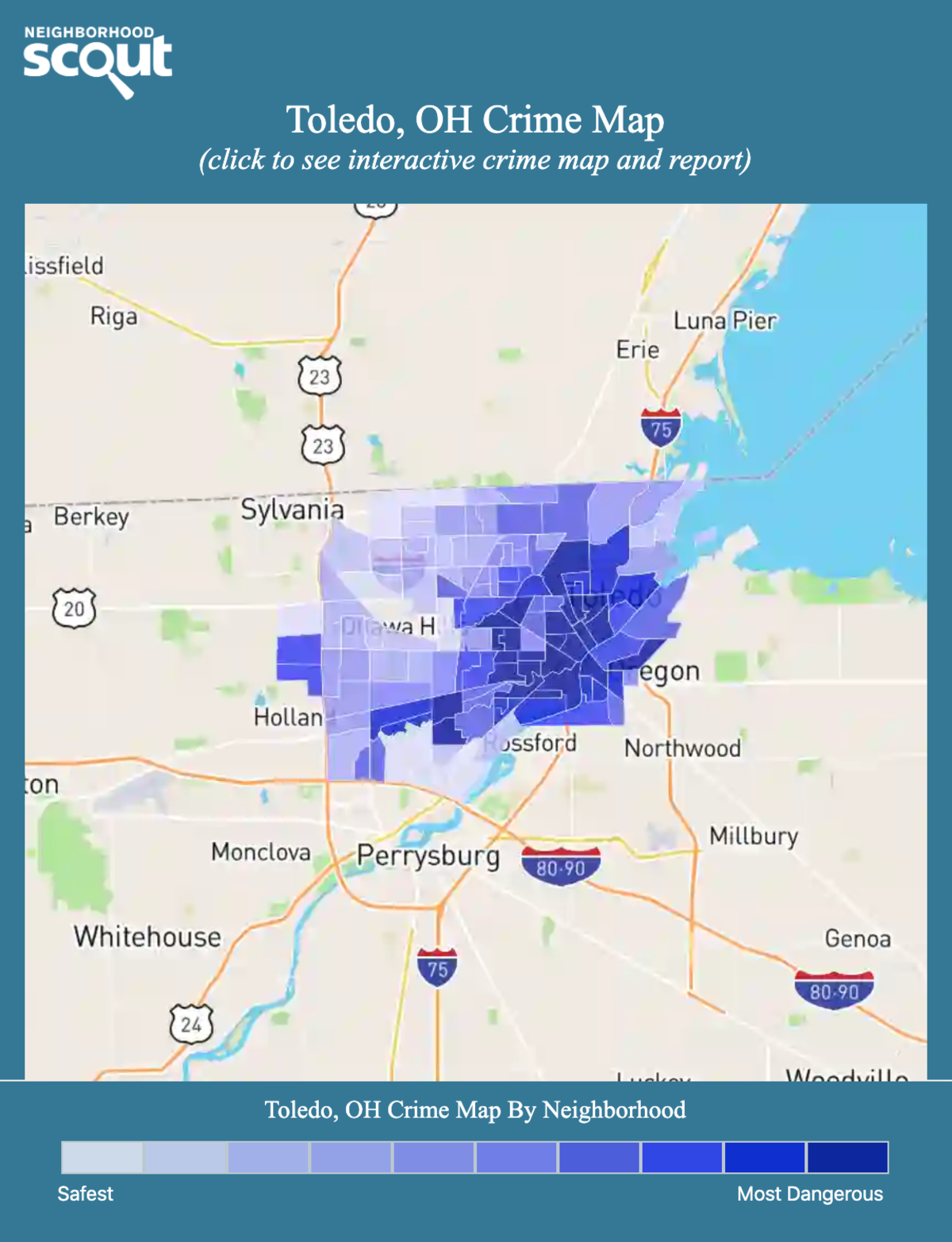 Toledo, OH Crime Rates and Statistics - NeighborhoodScout on