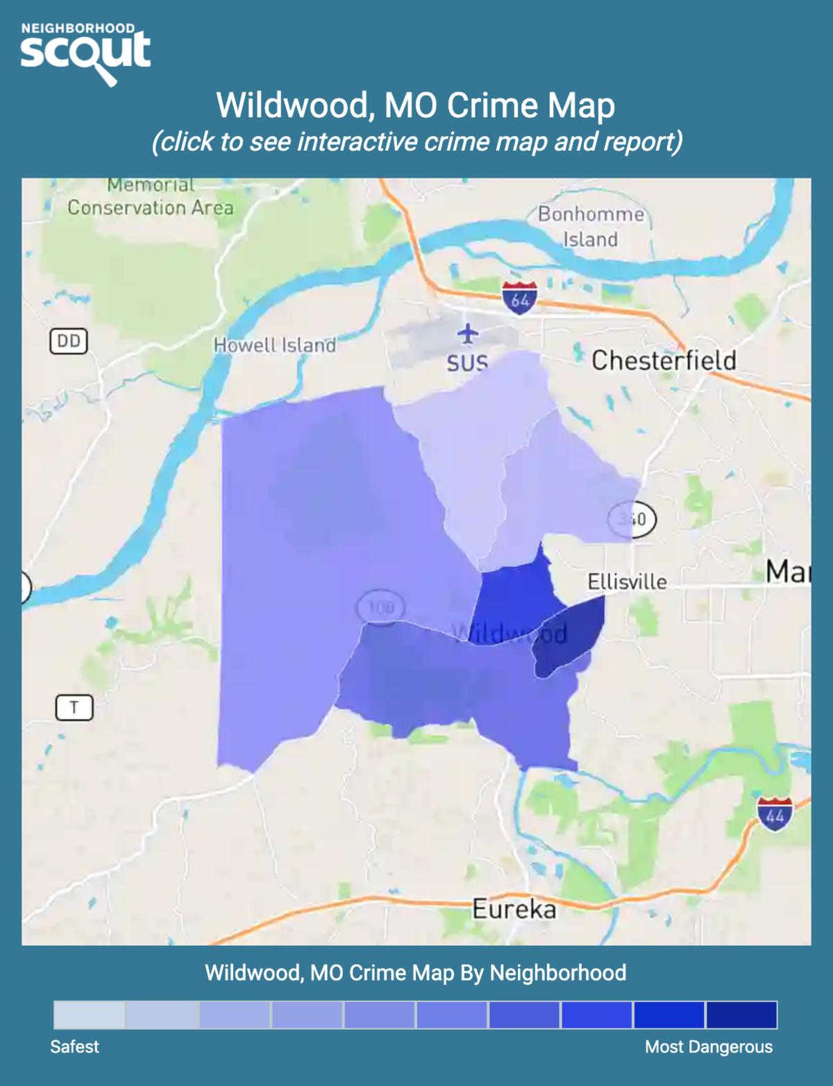 Wildwood, Missouri crime map