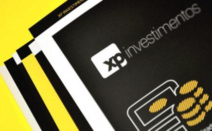 Marca XP Investimento em sobreposição