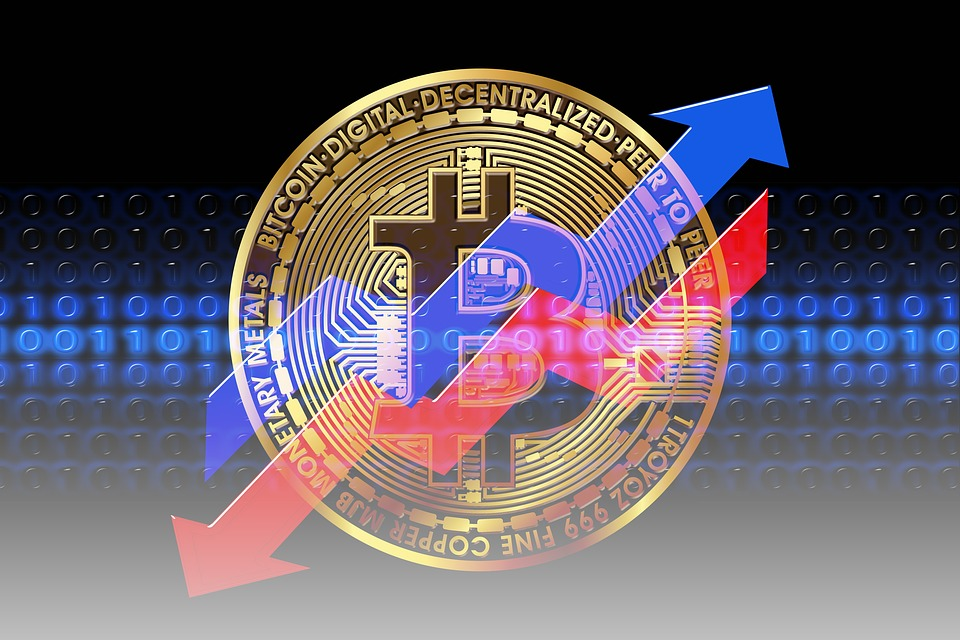Bitcoin em queda
