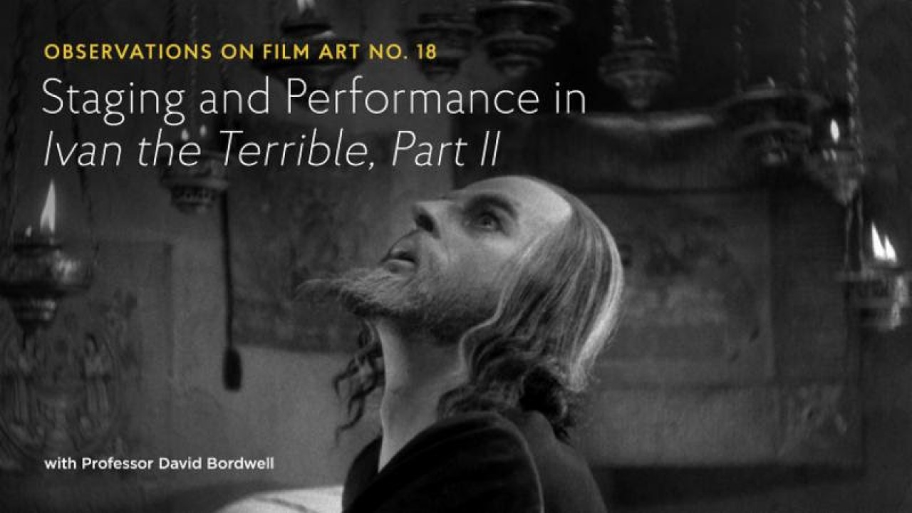 David Bordwell Shows How Eisenstein Broke the Rules of the Biopic