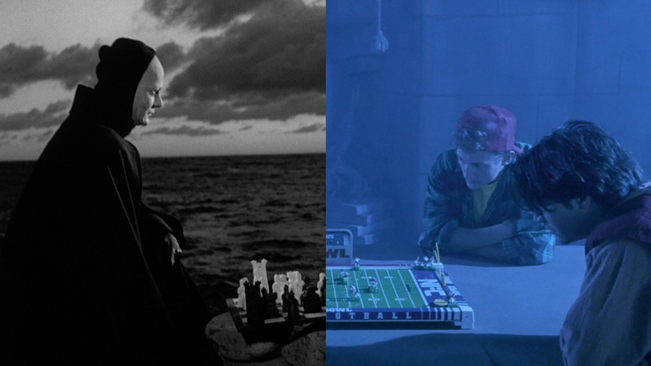 The Seventh Seal 1957 Criterion Collection Chess Checkmate Diagram A Is Called Quotat Double Dose Of Death
