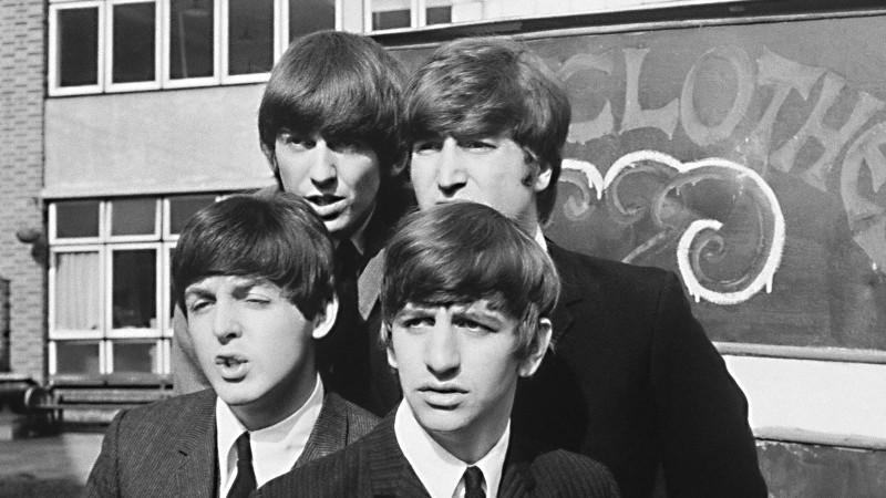 The Fab Four's Big-Screen Debut in Santa Monica