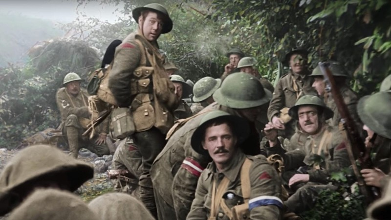 The Great War in Living Color and 3D