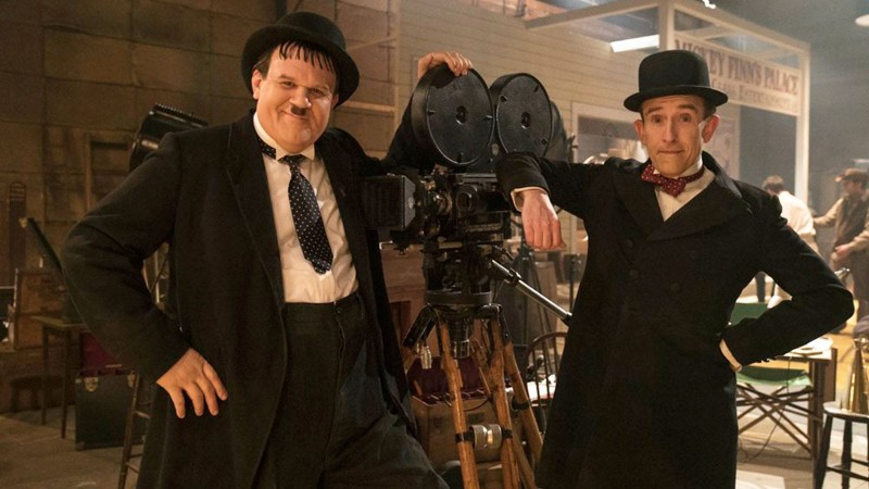 Coogan & Reilly as Stan & Ollie