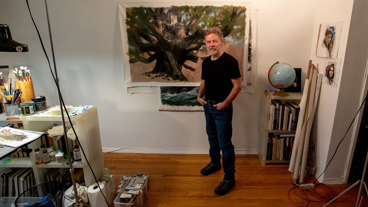 Gregory Manchess's Visions in Oil