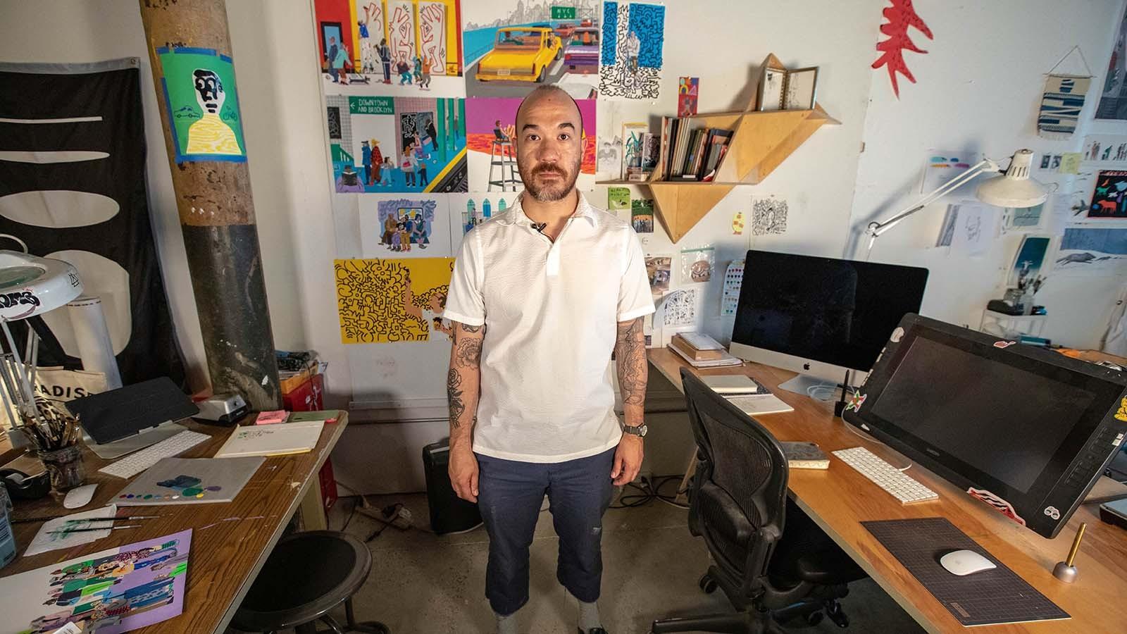 Illustrator Josh Cochran Taps into His Dark Side