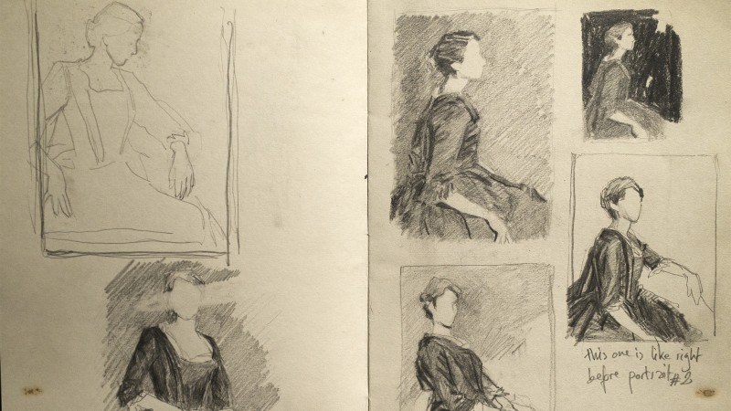 The Brush Behind the Film: How Painter Hélène Delmaire Created Our Portrait of a Lady on Fire Cover