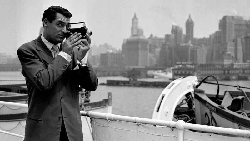 Cary Grant in Books and Bristol