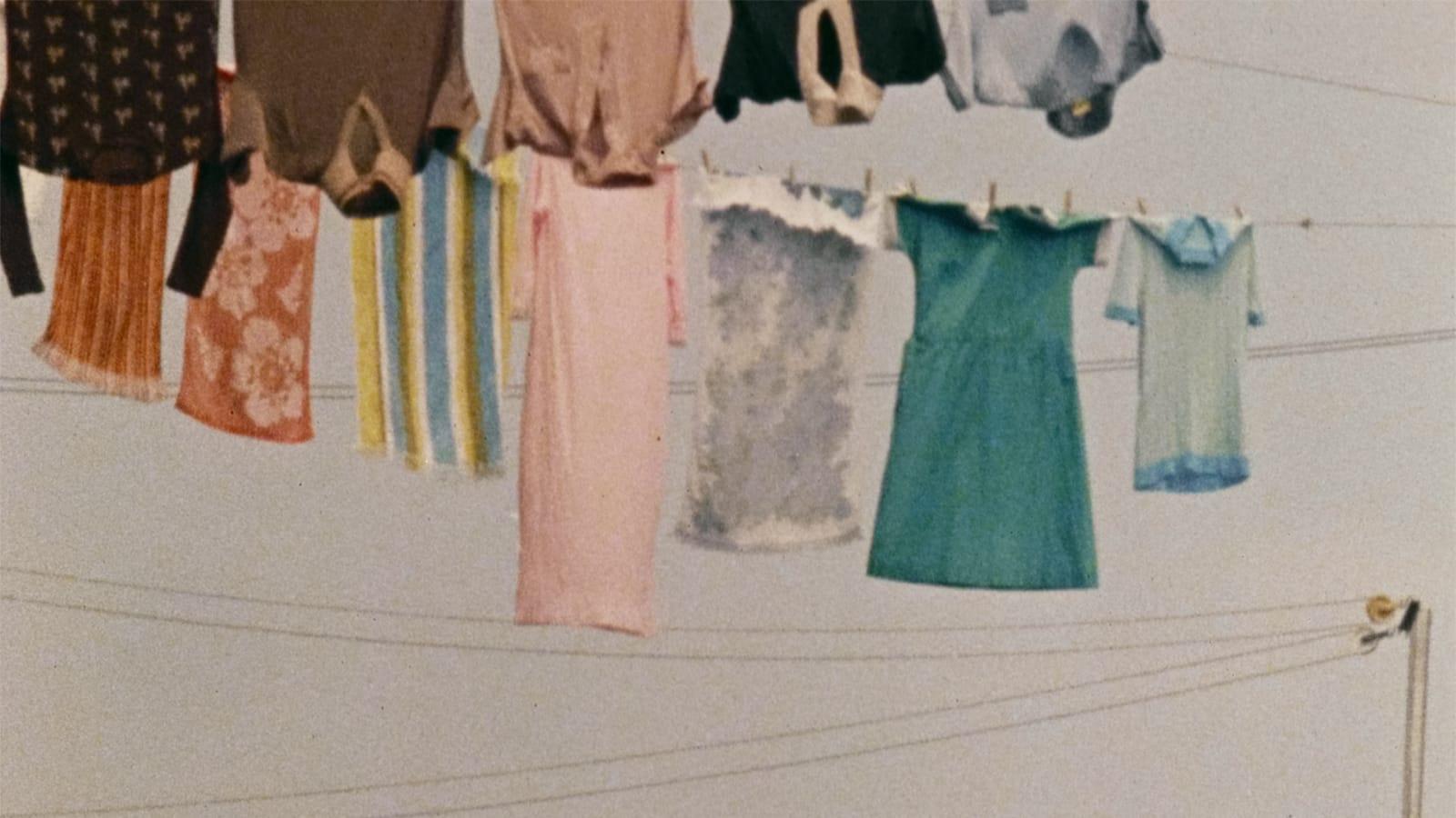 The Art of the Chore: Roberta Cantow's Feminist Classic <em>Clotheslines</em>
