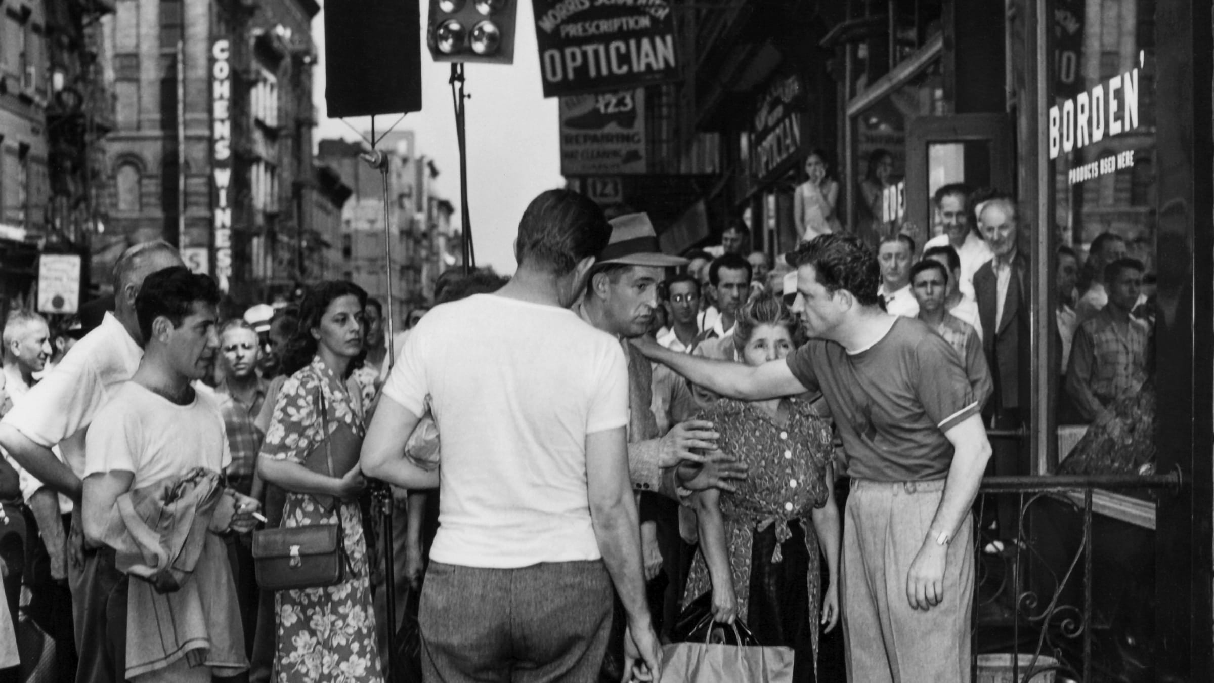 Walkers in the City: Jules Dassin and Bruce Goldstein in New York