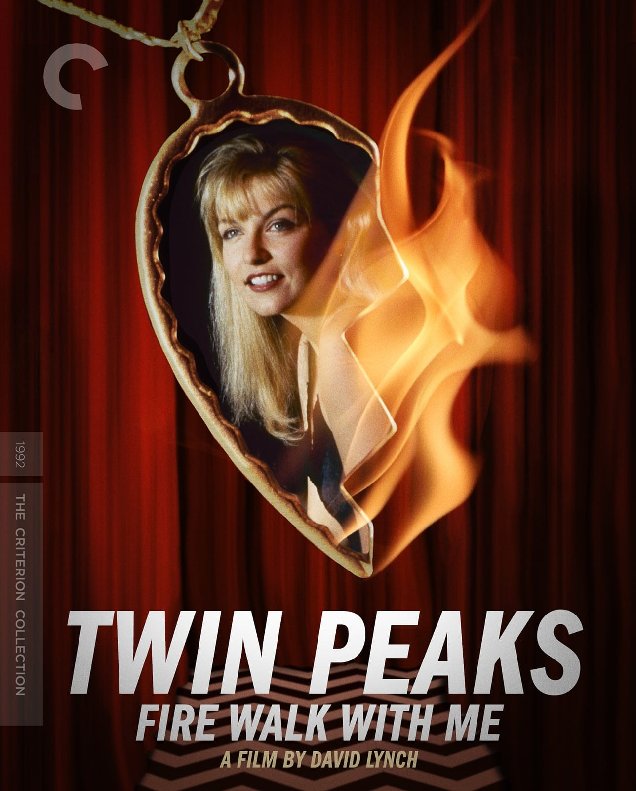 Image result for twin peaks fire walk with me criterion poster