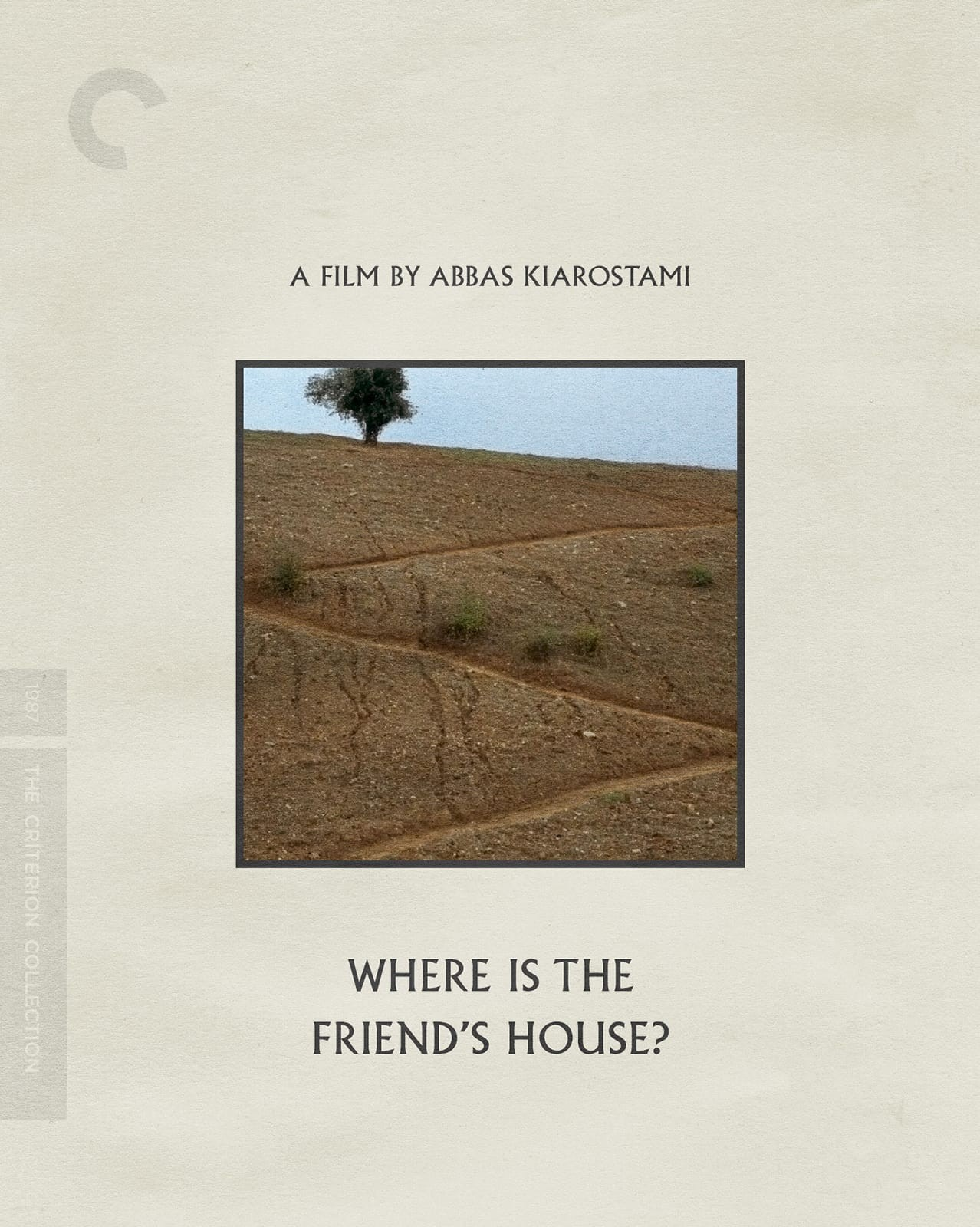 Where Is The Friend S House 1987 The Criterion Collection