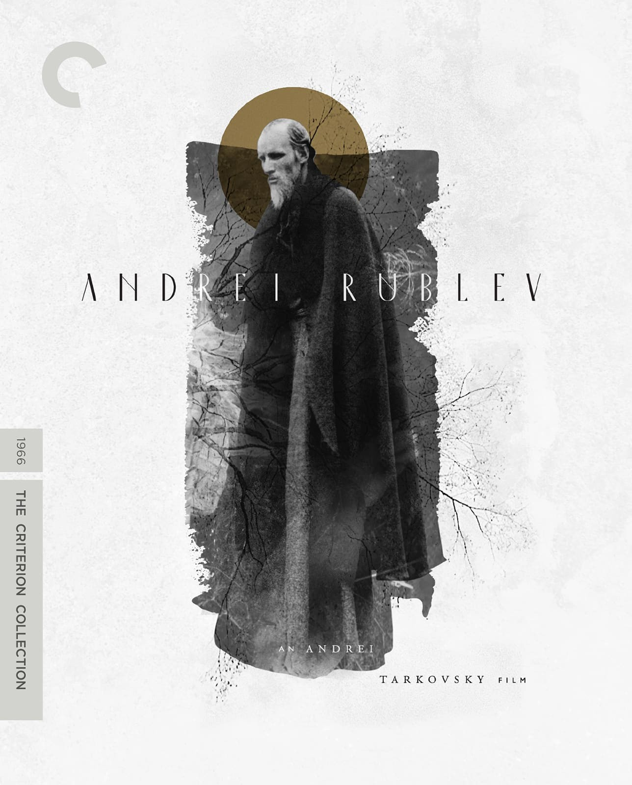 Andrei Rublev movie cover art for Criterion Collection