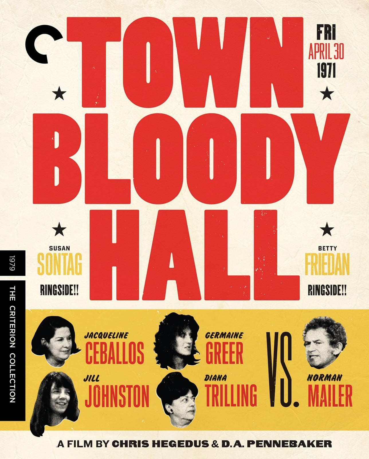 Town Bloody Hall (1979) | The Criterion Collection