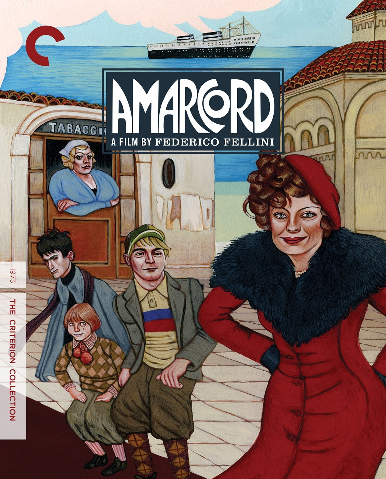 Image result for amarcord dvd