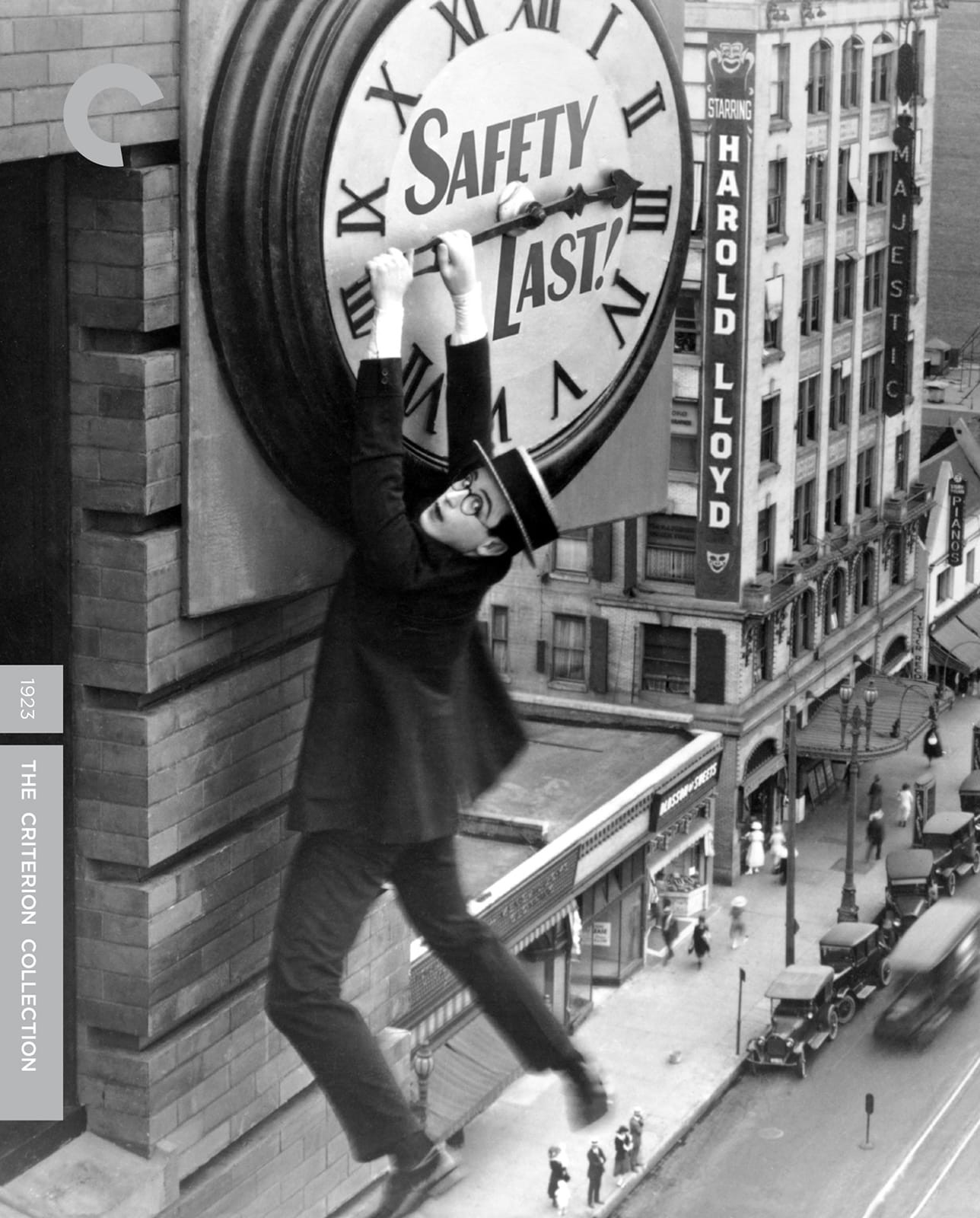 Image result for Safety Last! (1923)