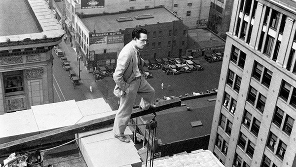 Up in the Air with Harold Lloyd and His Followers