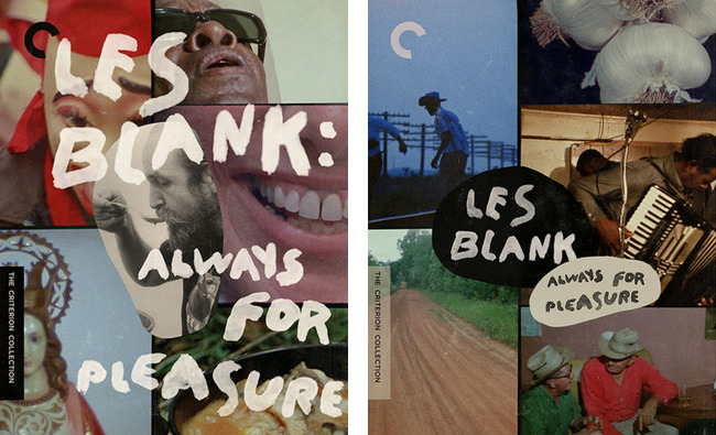 Les Blank cover sketches