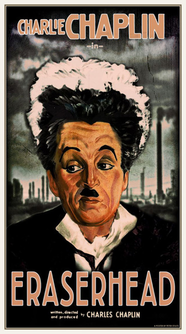 Chaplin in Eraserhead