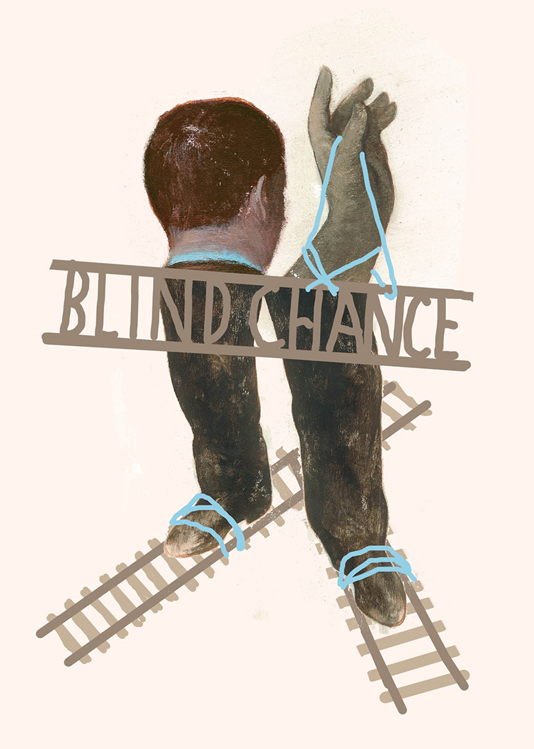 Blind Chance sketches by Gerard DuBois