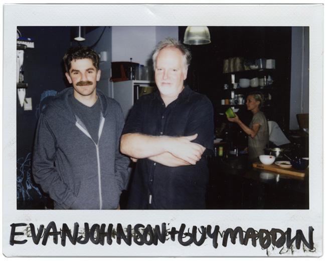 Guy Maddin and Evan Johnson