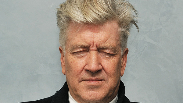 David Lynch meditating