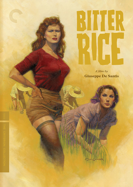 Bitter Rice sketches by Ken Laager