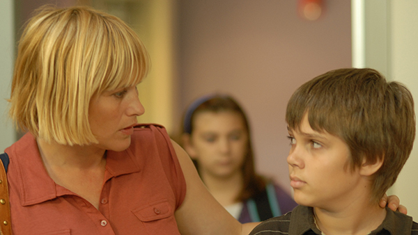 Patricia Arquette and Ellar Coltrane on Boyhood