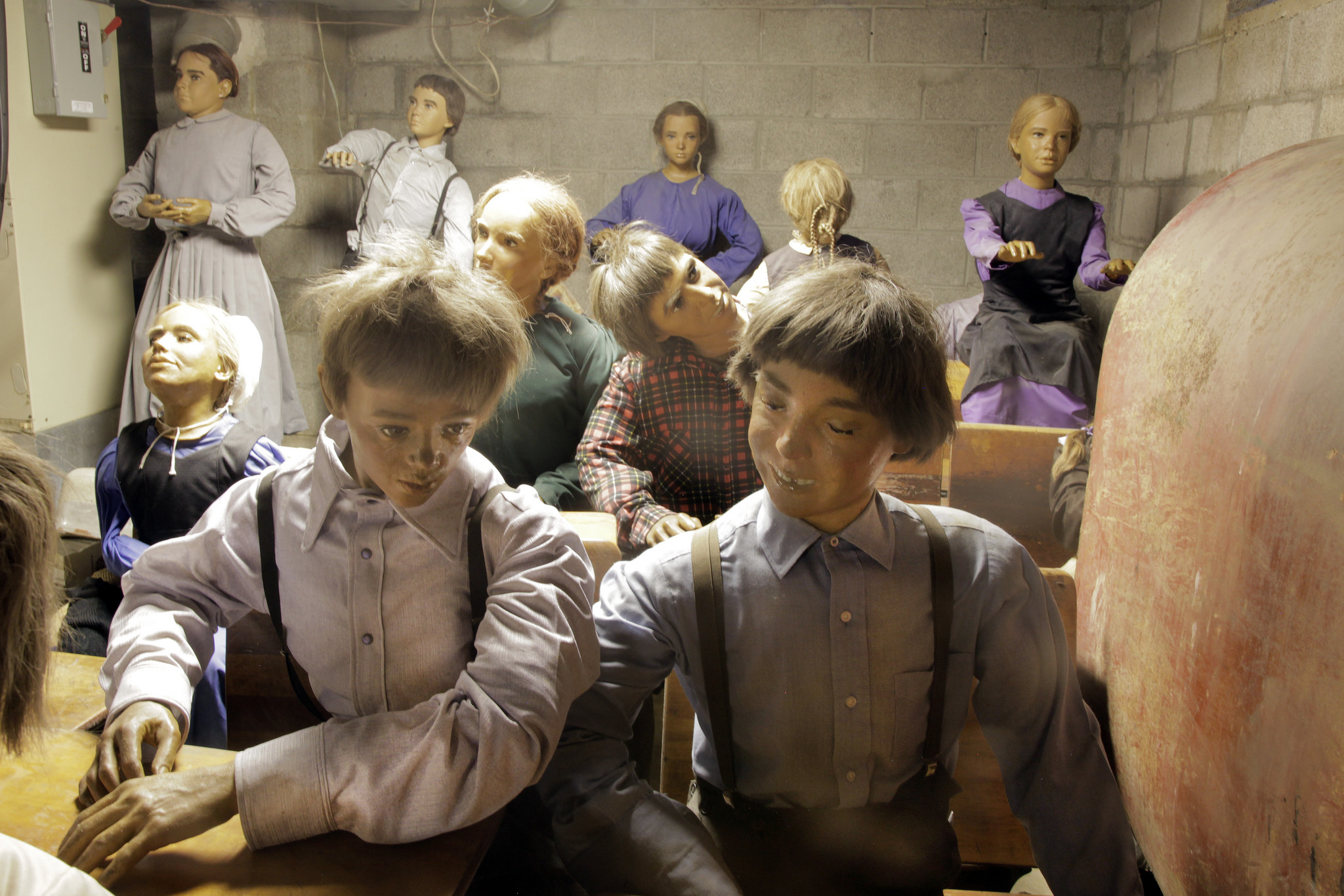 Amish wax museum