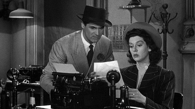 His Girl Friday: The Perfect Remarriage