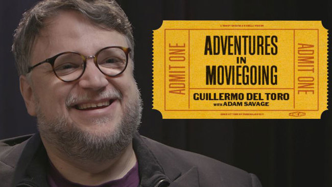 Adventures in Moviegoing with Guillermo del Toro