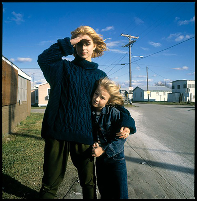 Nastassja Kinski and Hunter Carson BTS Paris, Texas