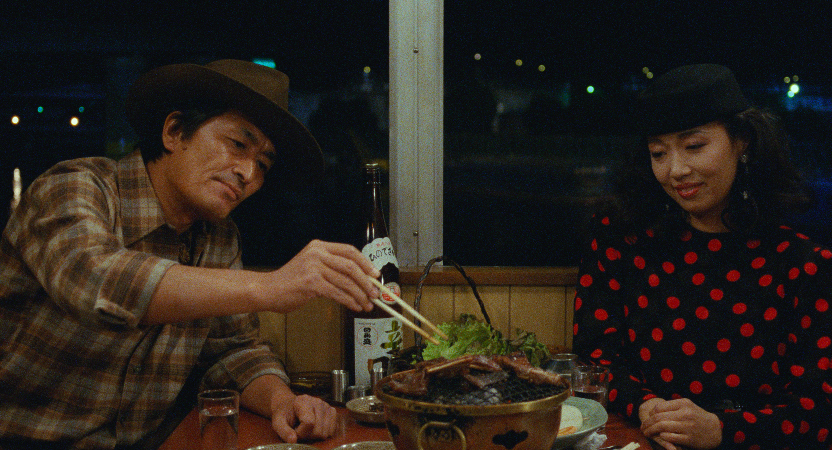 Alice Waters and Sam White on Tampopo