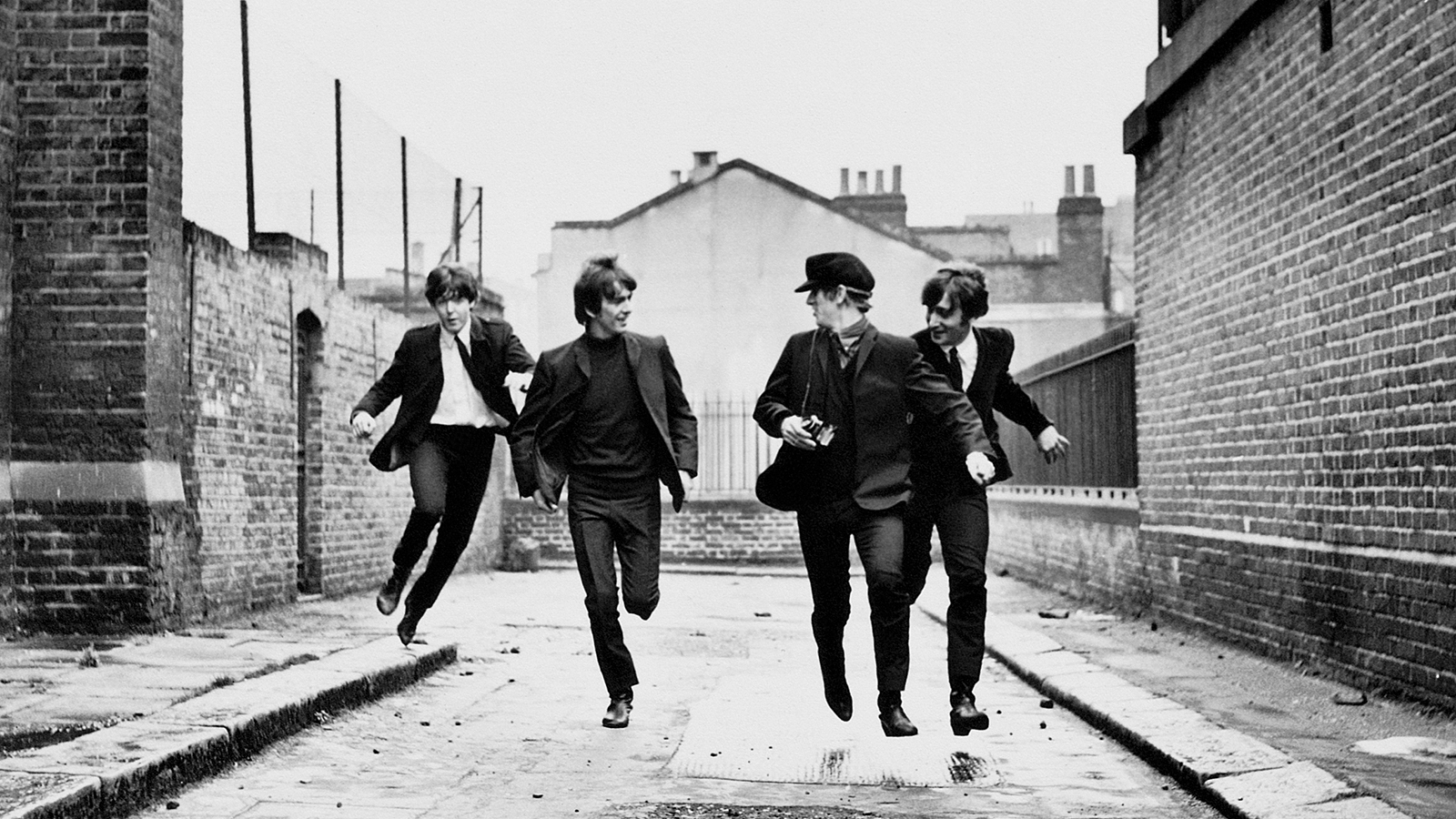 Hard Day's Night The Beatles movie | Вечер трудного дня