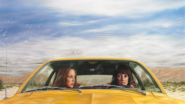 Front-Seat Isolation: One Scene from 3 Women