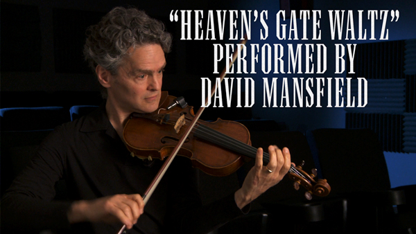 "David Mansfield Plays ""Heaven's Gate Waltz"""
