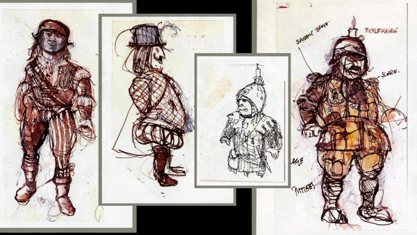 The Designs of Time Bandits