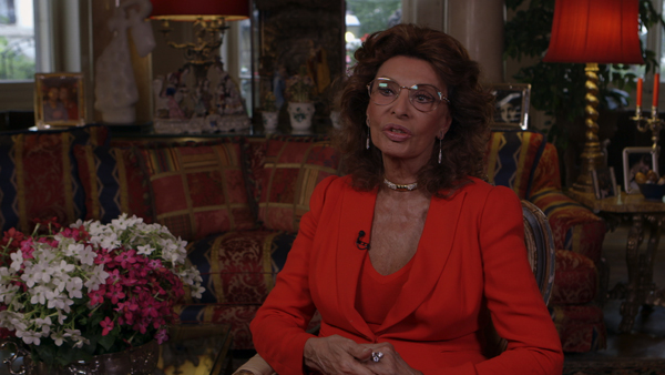 Sophia Loren on Working with Marcello Mastroianni