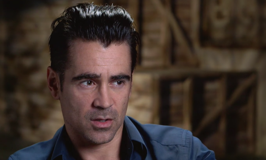 Colin Farrell on Working with Terrence Malick