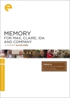 Memory for Max, Claire, Ida and Company box cover