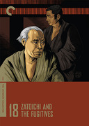 Zatoichi and the Fugitives box cover