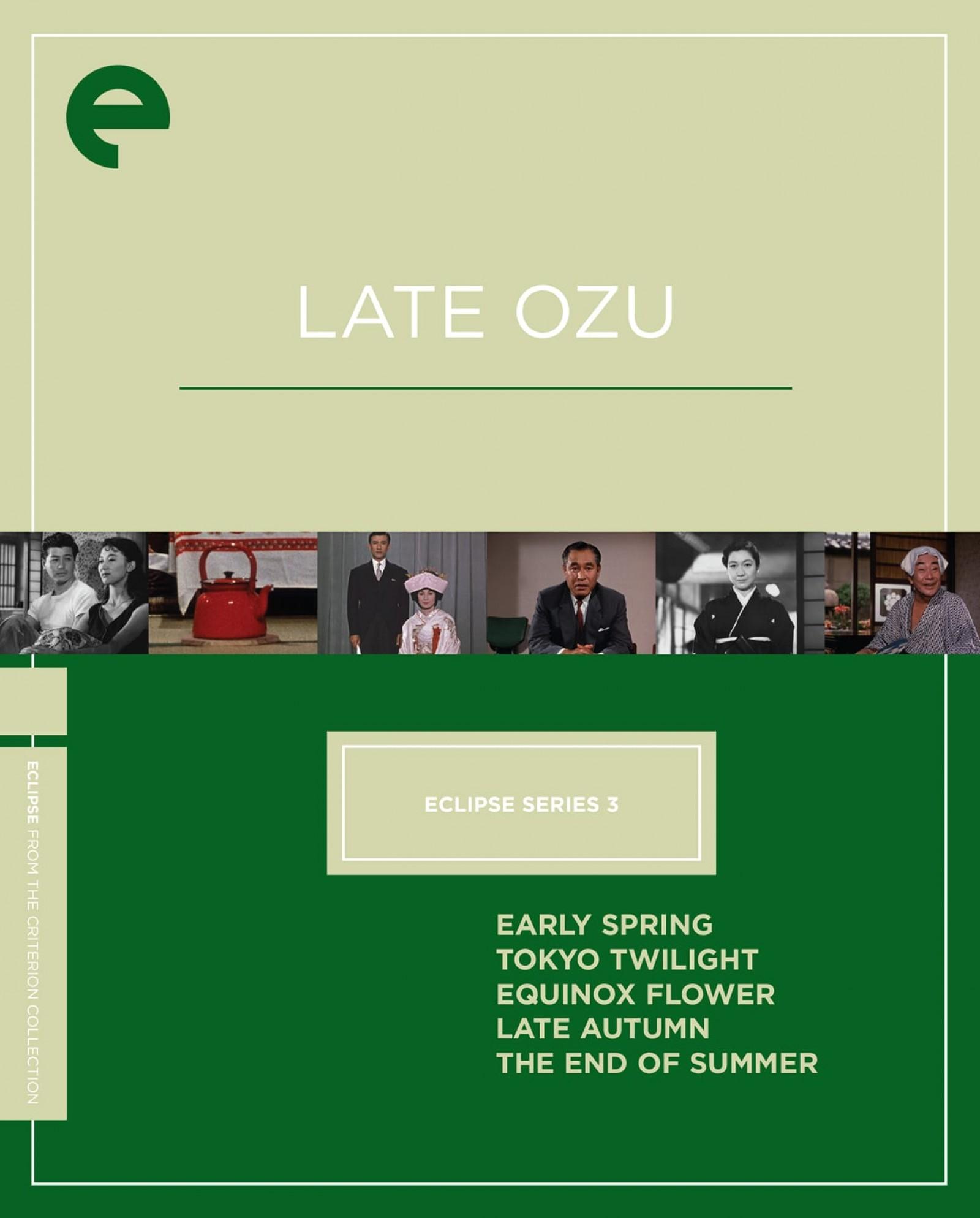 Eclipse Series 3: Late Ozu