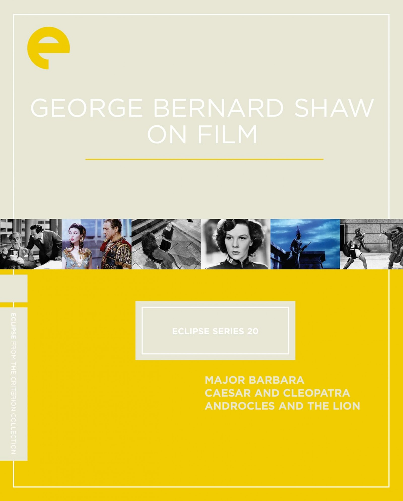 Eclipse Series 20: George Bernard Shaw on Film