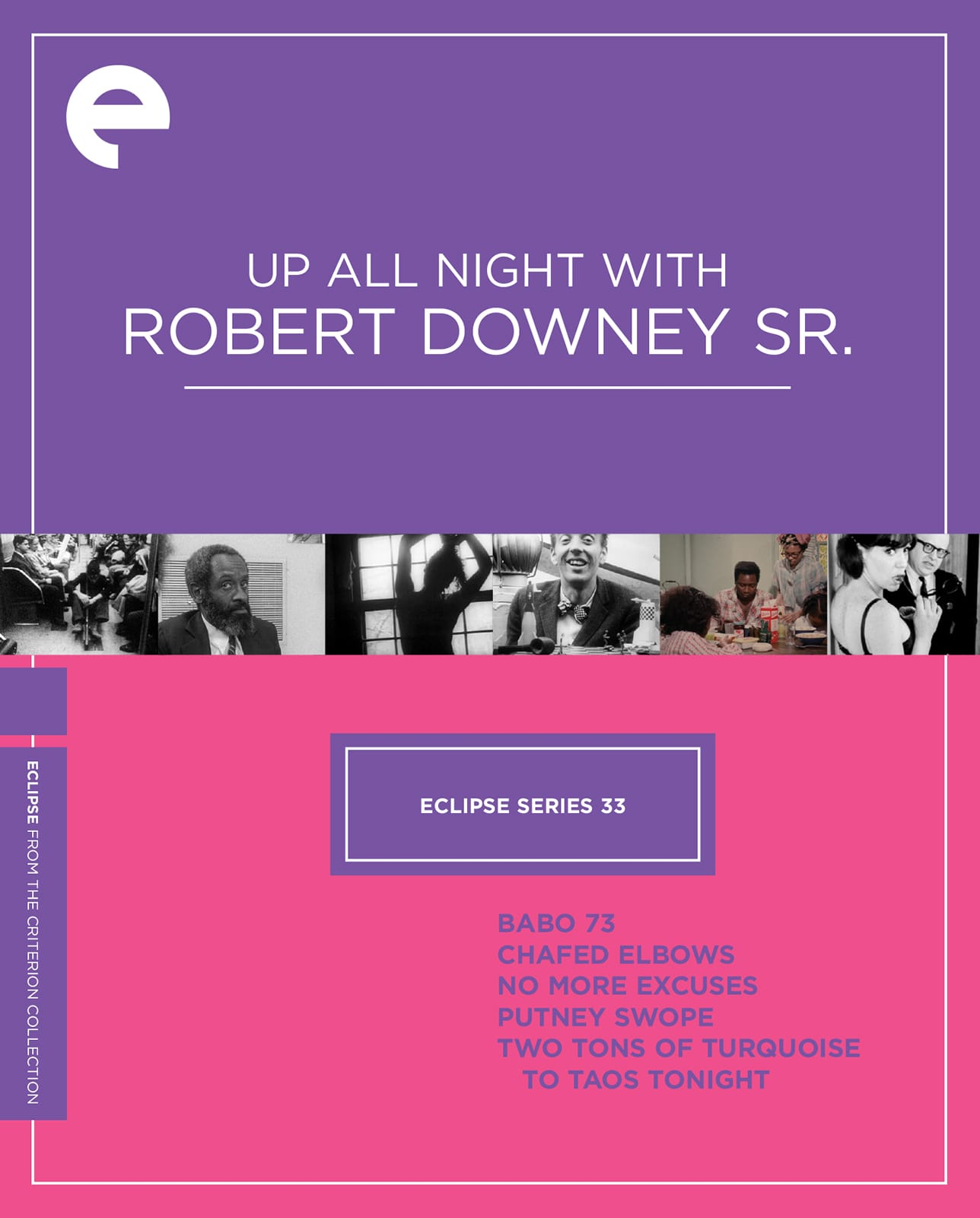 Robert Downey Sr: Eclipse Series 33: Up All Night