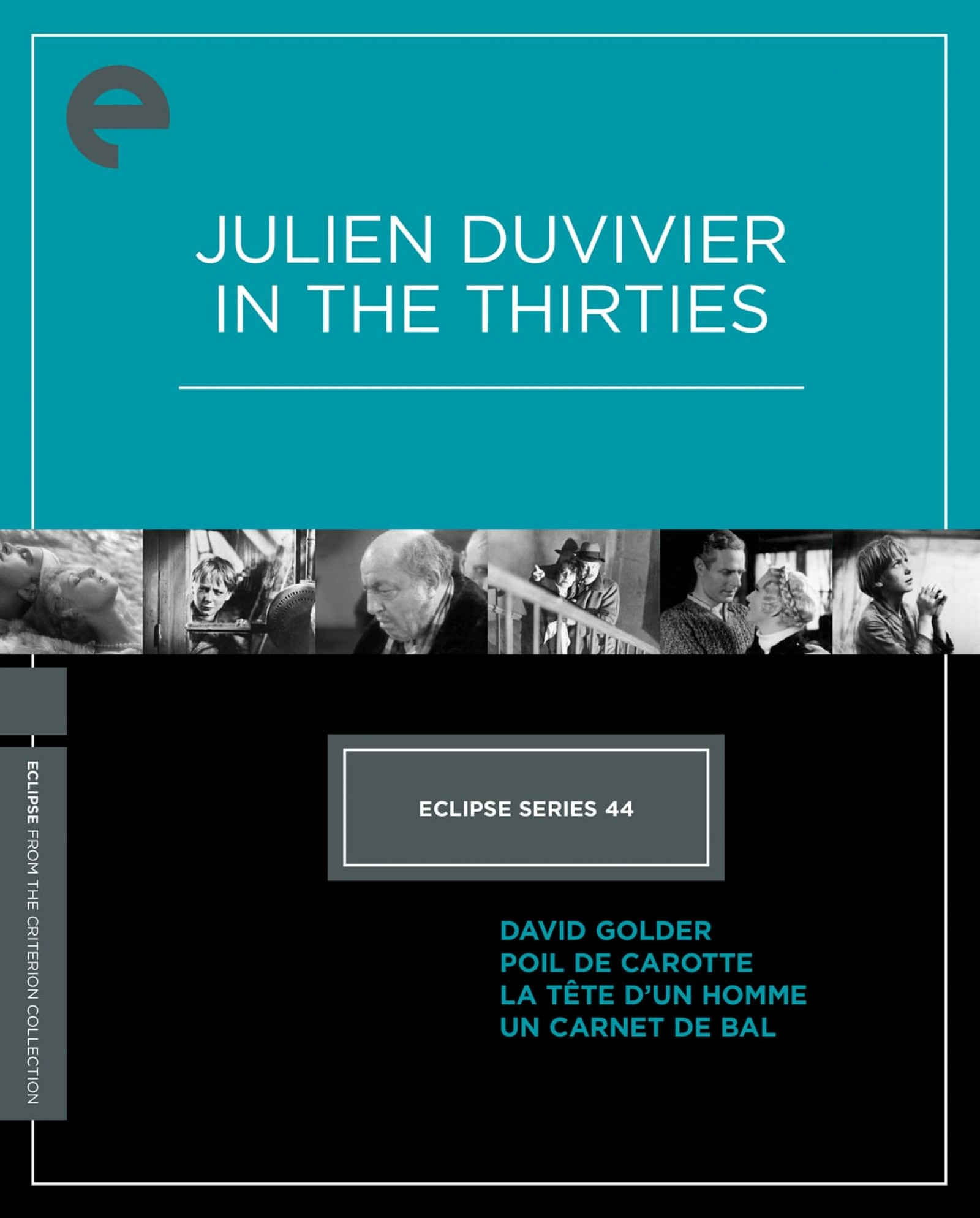 Eclipse Series 44: Julien Duvivier in the Thirties