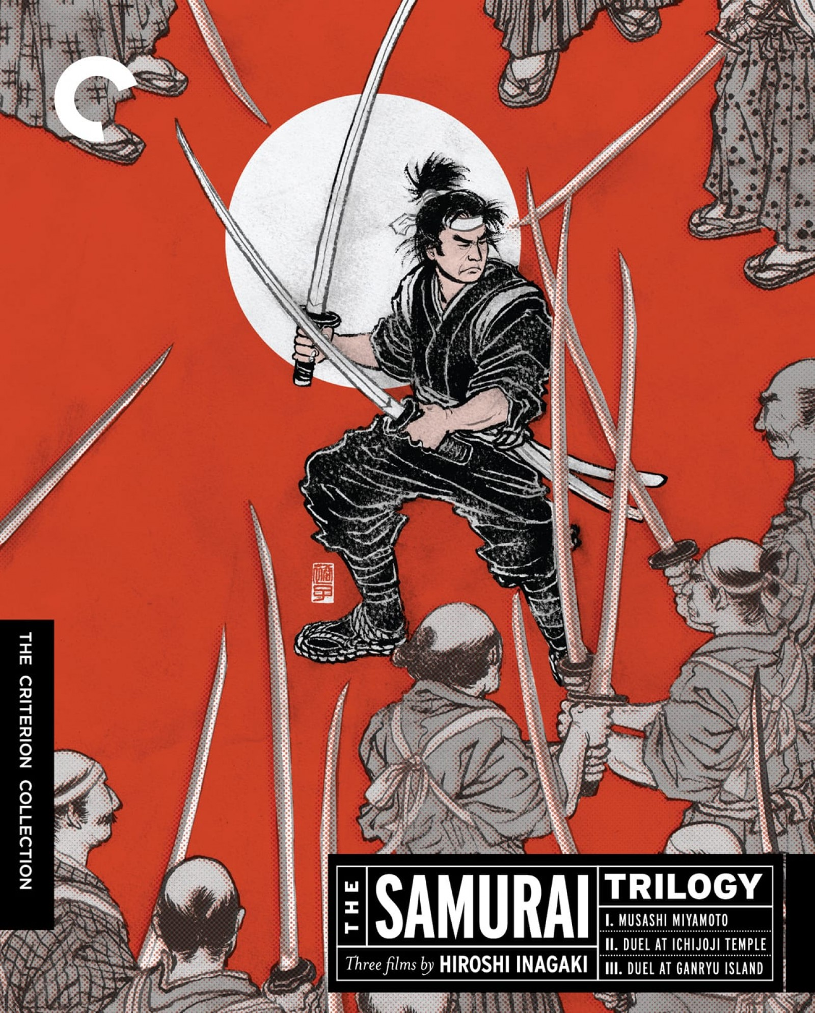 Image result for samurai i criterion dvd
