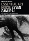Seven Samurai box cover